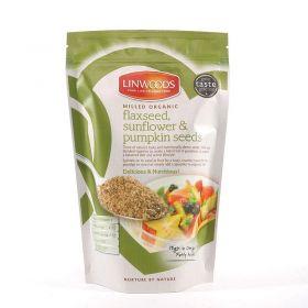 Linwoods Flax,Sunflower & Pumpkin Seeds 200g x12