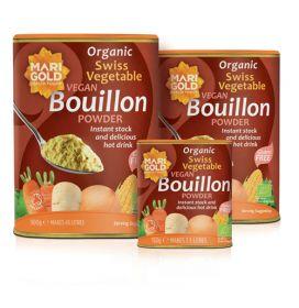Marigold ORG Swiss Veg Bouillon Red Vegan GF 6x150g