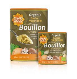 Marigold ORG Less Salt Bouillon Grey Family 6x500g