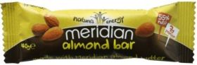 Meridian Almond Nut Bar 40g x18