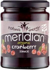 Meridian Organic Cranberry Sauce (No Refined Sugar) 284g x6