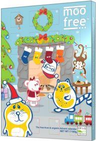 Moo Free Organic Chocolate Advent Calendar 100g x6