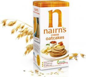 Nairns Cheesey Oatcakes 200g x12