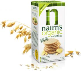 Nairns Organic Oatcakes 250g x12