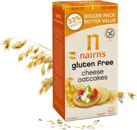 Nairns Cheese Oatcakes 135g x12