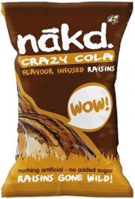 Nakd Cola Infused Raisins 25g x18