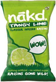 Nakd Lime Infused Raisins 25g x18