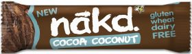 Nakd Cocoa Coconut Bar 35g x18