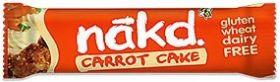 Nakd Carrot Cake Bar 35g x18