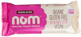 Nom Organic Original Oat Bar 52g x12