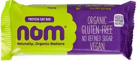 Nom Organic Protein Oat Bar 52g x12
