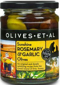 Olives Et Al Sunshine Rosemary & Garlic Olives 250g x6