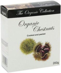 Organico Organic French Chestnuts in a Box 200g x12