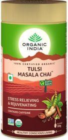 Organic India Masala Chai Tulsi Loose Tea 100g x6