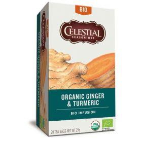Celestial Seasonings Tea Organic Matcha Green 20gx6