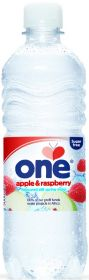 One Lemon and Lime Flavoured Still British Spring Water 500ml x24
