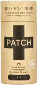 Patch Activated Charcoal Adhesive Strips - 25 Tube x8