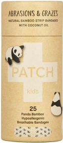 Patch Coconut Oil Kids Adhesive Strips - 25 Tube x8