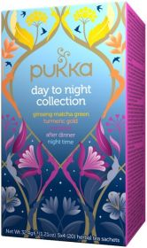 Pukka Organic Day to Night Collection Teabags 32.4g (20's) x4