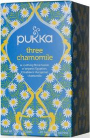 Pukka Organic Three Chamomile Teabags 30g (20's) x4