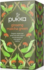 Pukka Organic Ginseng Matcha Green Teabags 30g (20's) x4