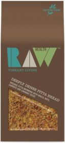 Raw Health Organic Deeply Dense Pitta Bread 90g x8