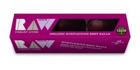 Raw Health Organic Rubylicious Beet Balls (3pk) 60g x8