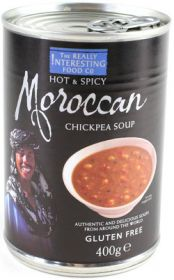 The Really Interesting Food Co. Moroccan Chick Pea Soup 400g x6