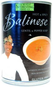 The Really Interesting Food Co. Balinese Lentil & Pepper Soup 400g x6