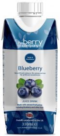 The Berry Company Blueberry Juice Drink 330ml x12