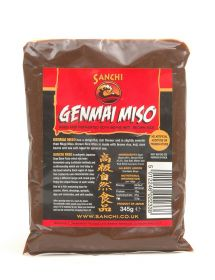 Sanchi Miso - Genmai (Brown Rice) 345g x6