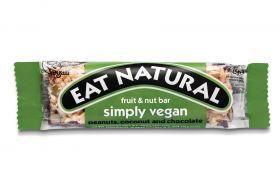 Eat Natural Simply Vegan Bar 45g x12