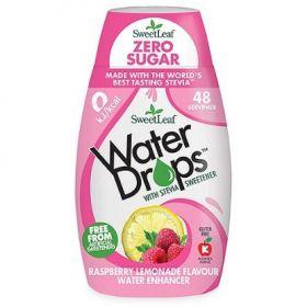 Sweetleaf Raspberry Lemonade Water Drops 48ml x12