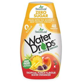 Sweetleaf Tropical Punch Water Drops 48ml x12