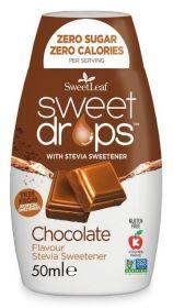 SweetLeaf Chocolate Sweet Drops 50ml x12