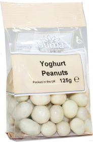 Suma Peanuts - Yoghurt Coated 125g x6