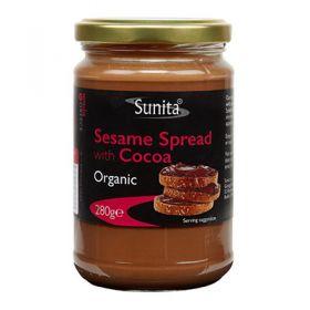Sunita Organic Sesame Spread with Cocoa