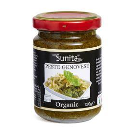Sunita Organic Pesto Rosso 6x130g