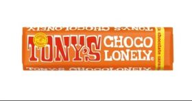 Tony's Chocolonely Fairtrade Caramel and Sea Salt Milk Chocolate 47g x35