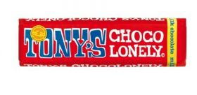 Tony's Chocolonely Fairtrade 32% Milk Chocolate 50g x35
