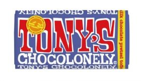 Tony's Chocolonely Dark Milk Chocolate, Pretzel & Toffee 42% 180g x15