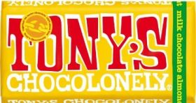 Tony's Chocolonely Fairtrade Milk Chocolate 32% Nougat 180g x15