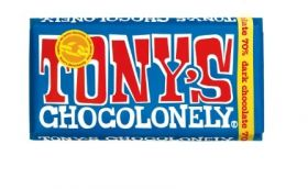 Tony's Chocolonely Fairtrade Dark Chocolate 70% 180g x15