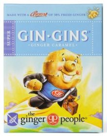 The Ginger People Gin Gins Ginger Caramel 31gx24