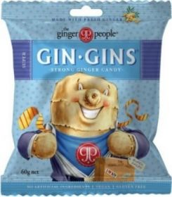The Ginger People Gin Gins Ginger Caramel 60g x24