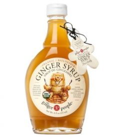 Ginger Party Organic Ginger Syrup 237mlx12