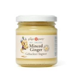 Ginger Party Organic Minced Ginger 190gx12
