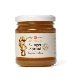 Ginger Party Organic Ginger Spread 240gx12