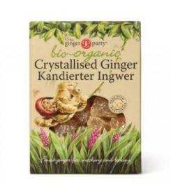 Ginger Party Organic Crystalised Ginger 84gx12