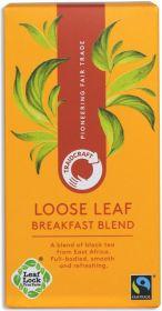 Traidcraft Fair Trade Breakfast Blend Loose Leaf Tea 125g x6